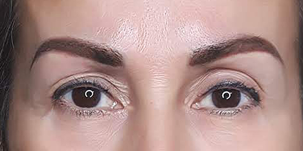 Brow Ink Permanent Cosmetics Powder Brows After Vernon BC