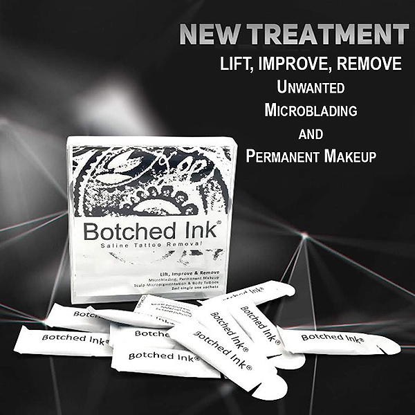 Lift Improve Remove Unwanted Microblading and Permanent Makeup Brow Ink Okanagan BC