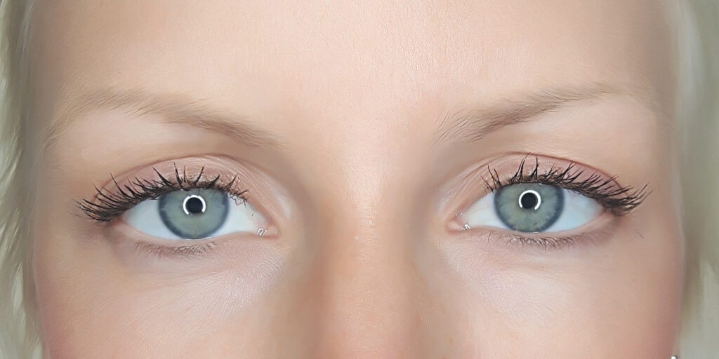Blonde Powder Brows Before - Brow Ink Cosmetic Tattoo